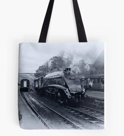 A4 Steam Train - Grosmont Tote Bag