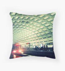 Dc Subway Map Pillow.Washington Metro Pillows Cushions Redbubble