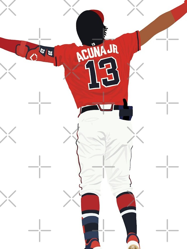 Ronald Acuña Jr. Home Run Feier von devinobrien