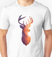 The Stag - Burnt Geometric T-Shirt