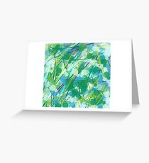 Evergreen the blues Greeting Card