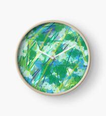 Evergreen the blues Clock