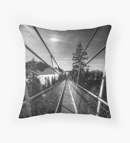 Tensions Converging Throw Pillow