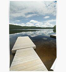 Legrou Lake Boat Dock Poster