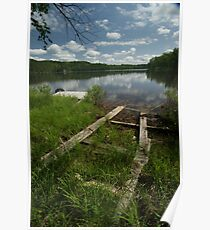 Legrou Lake Old Boat Launch Poster