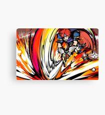 Roy | Flare Blade Canvas Print