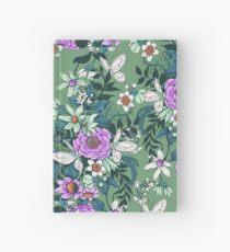 Thea's Garden - green tones Hardcover Journal
