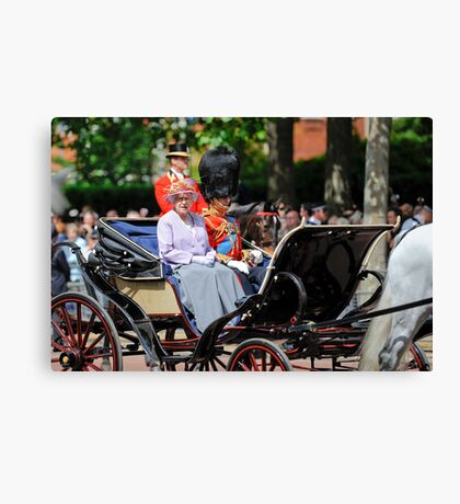 The Queen Looked at Me:-) Oh My... Canvas Print