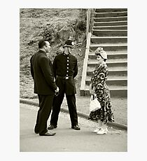 Black Country Police Officer Photographic Print