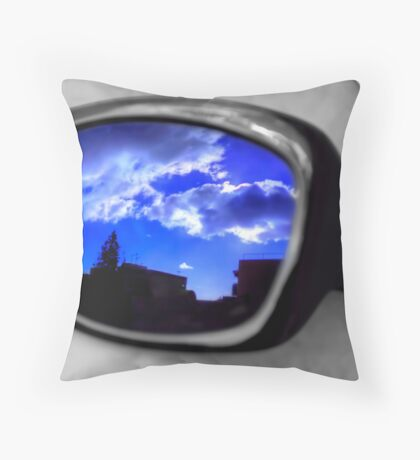 Clouded Reflections Throw Pillow