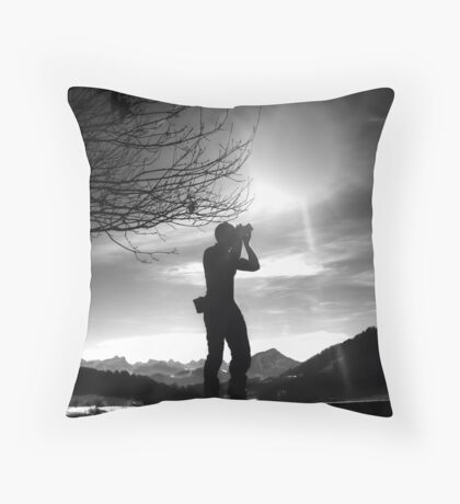 To Get The Best Angle Throw Pillow