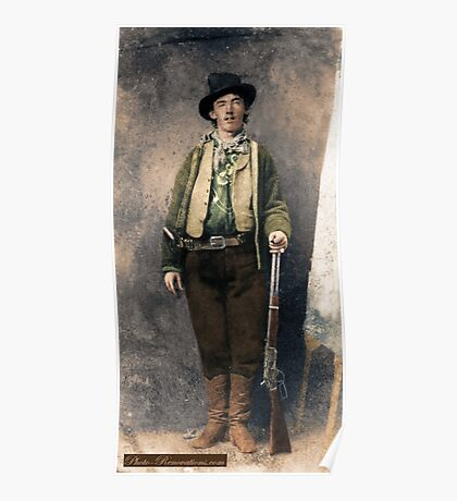 Billy The Kid 1 Poster