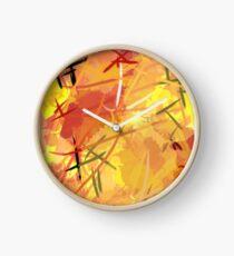 Burning Sun Clock