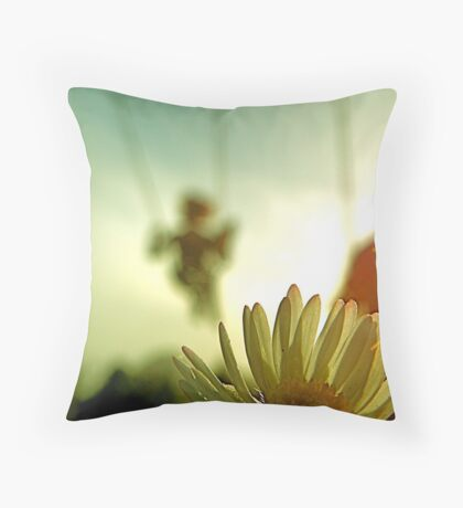Squeaky Swings and Tall Grass Throw Pillow