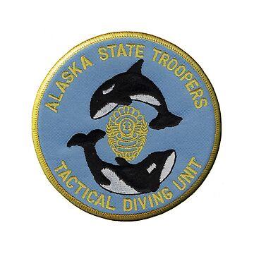 Alaska Dive Team by lawrencebaird