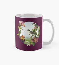 Orchids and Birds Mug