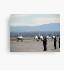 Nellis Air Force Base Canvas Print