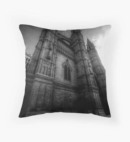 Cathedral of Santa Maria of Palma II Throw Pillow