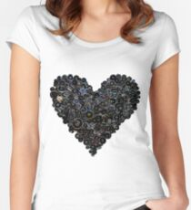 my evil heart! Women's Fitted Scoop T-Shirt