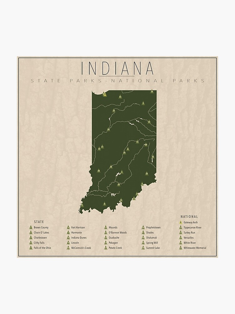 Indiana Parks | Photographic Print