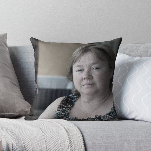 Pauline Quirke Throw Pillow