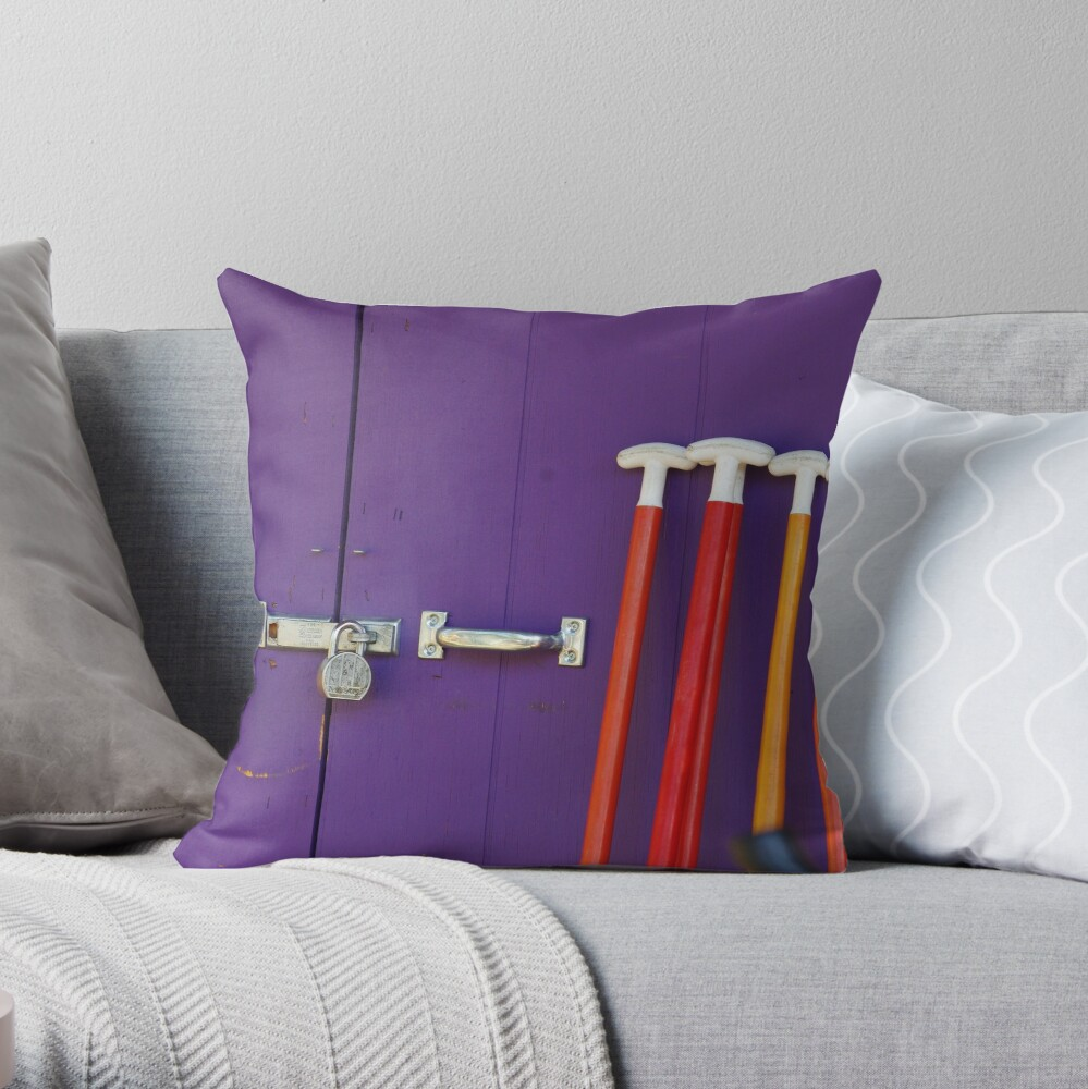 St Paddles Day Throw Pillow