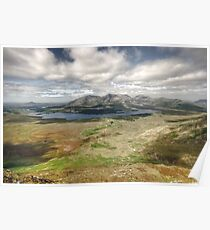 Lough Inagh Valley Poster
