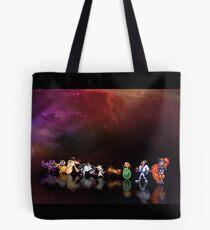 Earthworm Jim pixel art Tote Bag