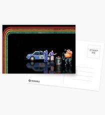 E-Swat - Cyber Police pixel art Postcards