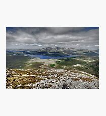 Lough Inagh Valley view Photographic Print