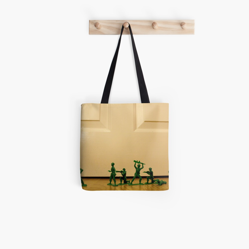 Toy Story Recreation - Soldiers in Toy Mode Tote Bag