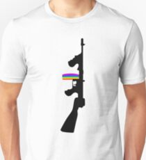 Machine Gun Silhouette - Tommy Gun Edition T-Shirt