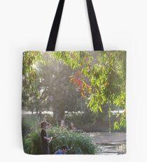 """""""Picnic  with nature-Baldwin swamp in Bundaberg"""" Tote Bag"""