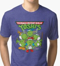 Teenage Mutant Ninja Yoshis Tri-blend T-Shirt