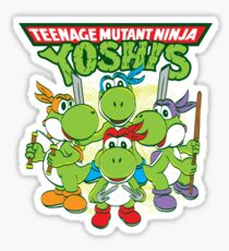 Teenage Mutant Ninja Yoshis Sticker
