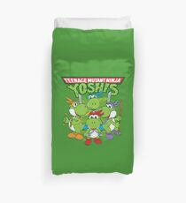 Teenage Mutant Ninja Yoshis Duvet Cover