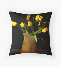Cojín tulipes jaunes