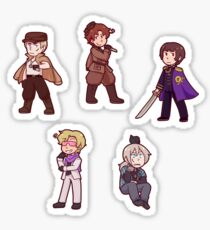 2p! Axis Sticker
