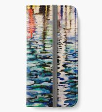 Marina Farben iPhone Flip-Case/Hülle/Klebefolie