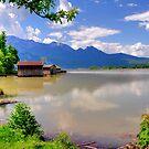 Beautiful shoreline by Daidalos