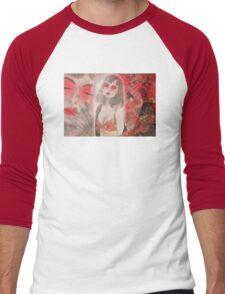 To tell you a geisha story... Men's Baseball ¾ T-Shirt