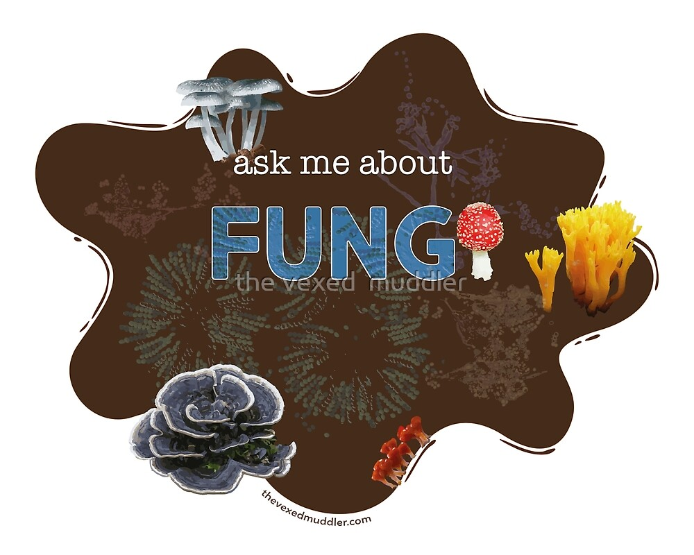 Ask me about FUNGI by the vexed  muddler