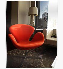 Arne Jacobsen -  Swan Chair Poster
