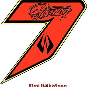 Kimi Raikkonen  by upick