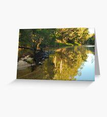 Grose river    (no.4) Greeting Card