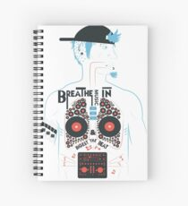 This is what your insides look like on music. Spiral Notebook