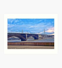 Bridge in Saint Louis Art Print