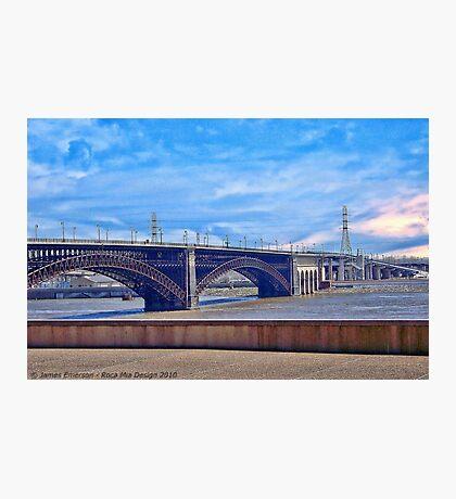 Bridge in Saint Louis Photographic Print