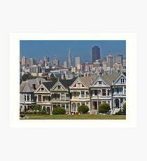 Painted Ladies - San Francisco #1 Art Print