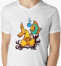 Under Da Sea Mens V-Neck T-Shirt